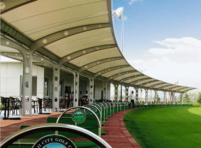 高尔夫球场PTFE膜结构遮阳棚.jpg