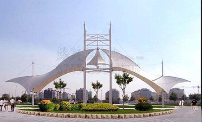 膜结构是城市小品建筑的最佳选择